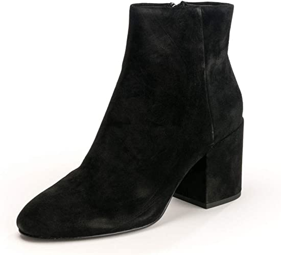 Ash EDEN Ankle Boots Black Suede 41