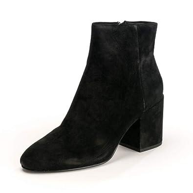 Ash Zapatos Eden Botines de Ante Negro: Amazon.es: Zapatos y complementos