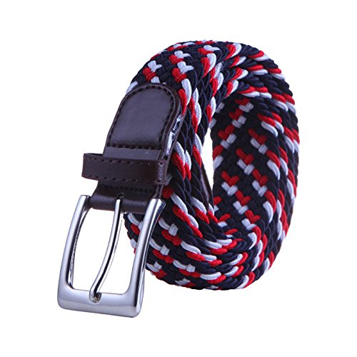 HDE Elastic Braided Leather Accents