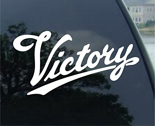 VICTORY MOTORCYCLE Car Bumper Laptop Sticker Decal (5