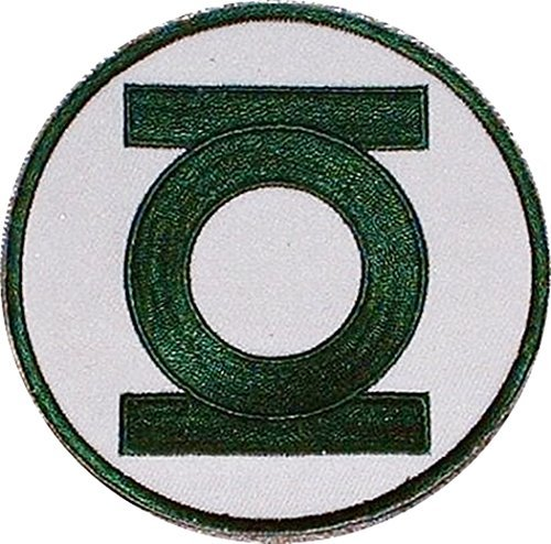 Green Lantern DC Comics Embroidered Chest Logo PATCH (Superheroes Outfit)