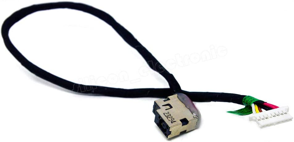 For Dc Power Jack Harness Plug Cable For Hp Chromebook 14-q020nr 14-q029wm 14-q030nr