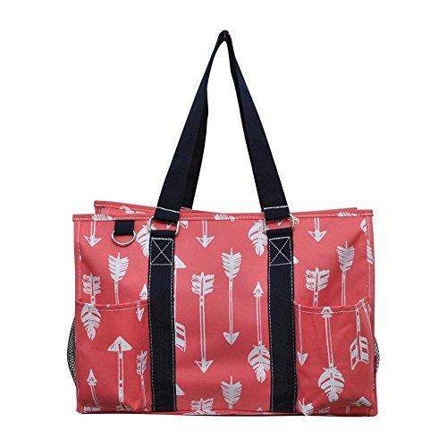 (N Gil All Purpose Organizer Medium Utility Tote Bag 3 (Arrow Coral))