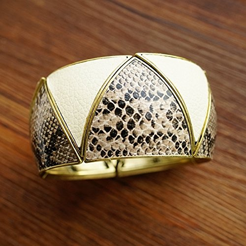 - New serpentine leather bracelet elastic rope spot female jewelry bracelets