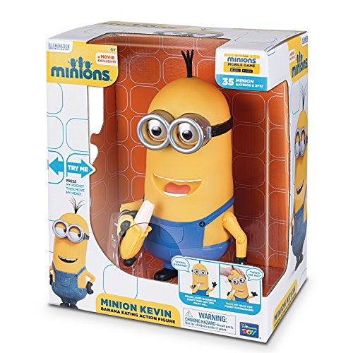 Minions Kevin Banana Eating Action Figure -
