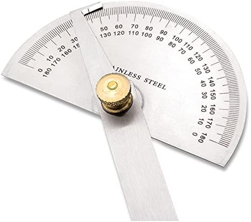 Eastwood Durable Precision Stainless Steel Protractor Angle Finder Vinyl Case