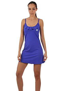 a40grados Sport & Style Viridiana Vestido de Tenis, Mujer, Azul, ...