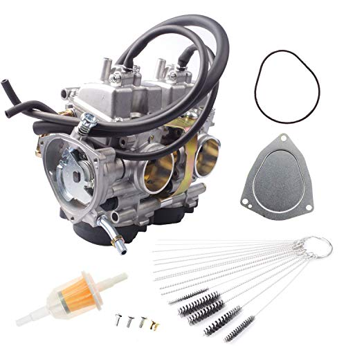 Dosens Carburetor Spark Plug Kit for 2001-2005 Yamaha Raptor 660 660R YFM660 YFM660R