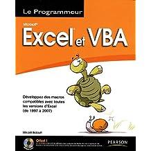 Excel et vba (1997/2007) programmeur