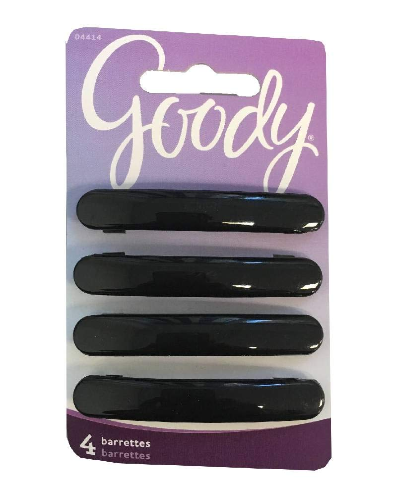 Goody -Womens Classic Oblong Autoclasp 4 Ct Color May Very, GD-04414