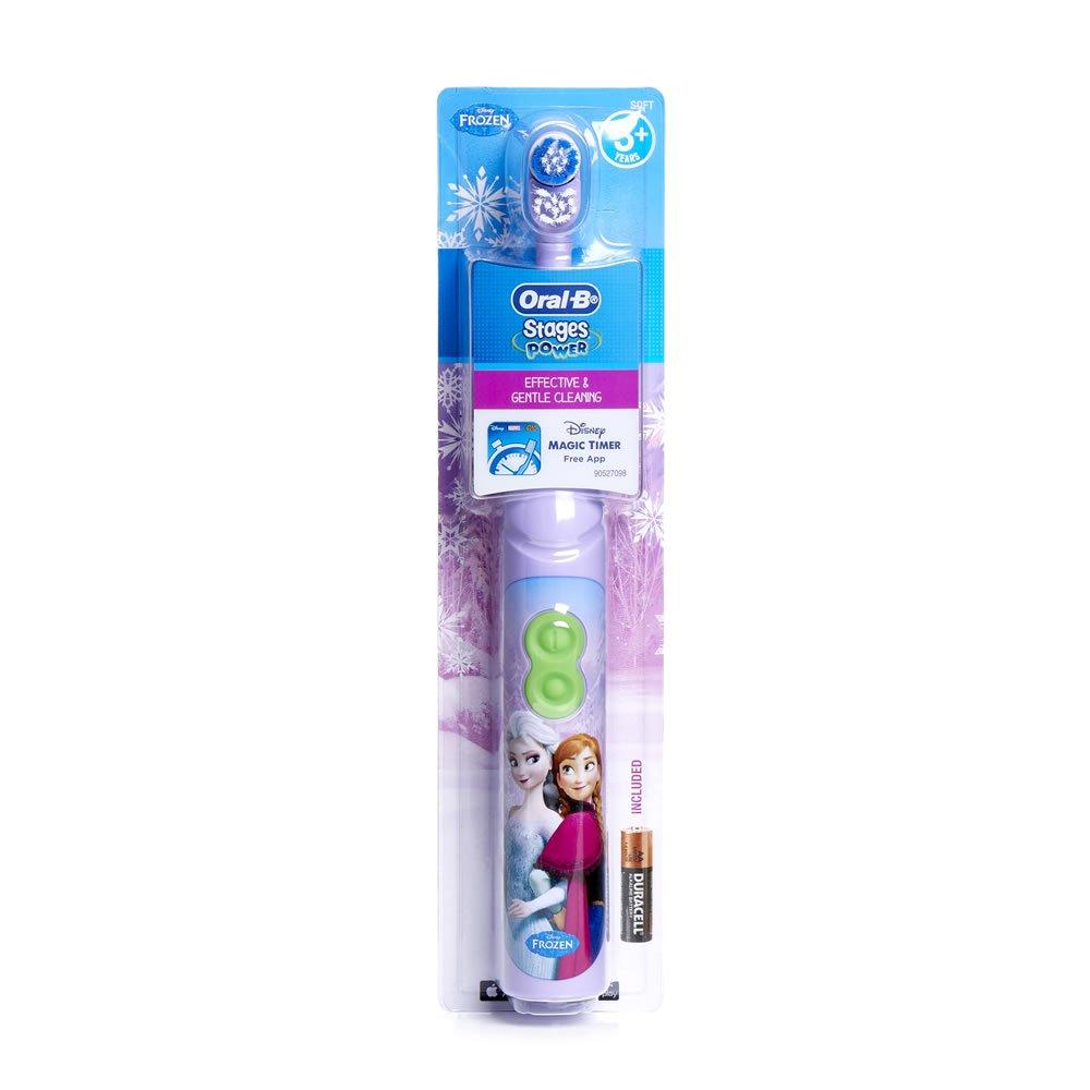 Set de 2 - Frozen de Oral-B Pro-Expert - Cepillo de dientes eléctrico (con temporizador) y pasta de dientes (75ml, frutas Burst) Set: Amazon.es: Salud y ...