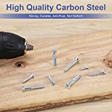 FARRAY Wood Screws Assortment Kit, 224pcs