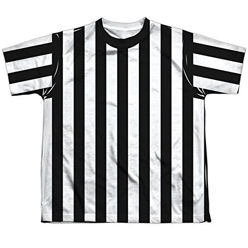 Referee Shirt Youth Or Boy's Front Only Sublimated T Shirt