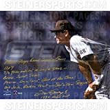 Steve Garvey San Diego Padres Stands Ready 16x20 Story Photo w/1984 NLCS MVP Insc. ( Signed in Gold)