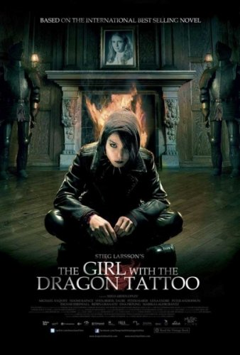 The Girl With The Dragon Tattoo - Movie Poster By Stop Online