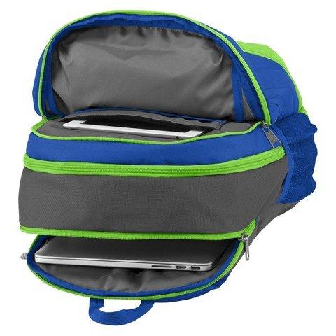 Blue And Green Jansport Backpack | Crazy Backpacks