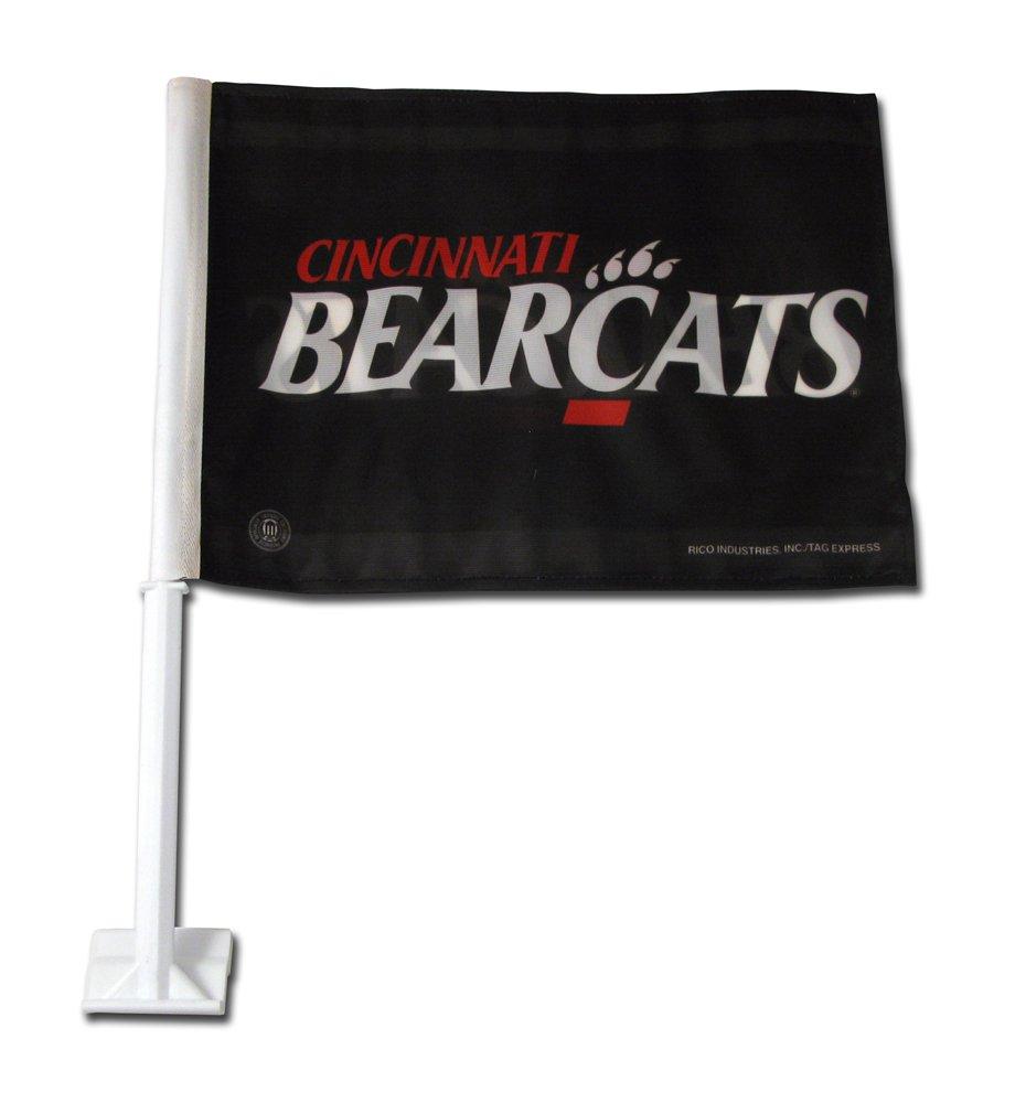 Rico Industries NCAA Cincinnati Bearcats Car Flag