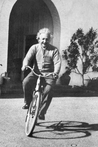 Image result for einstein bicycle