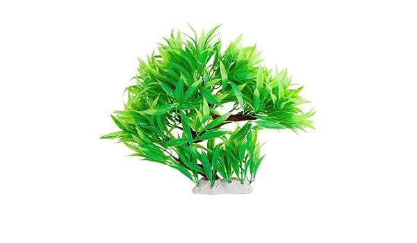Amazon.com: eDealMax Simulación acuario flotante hierba ornamento, Verde: Pet Supplies