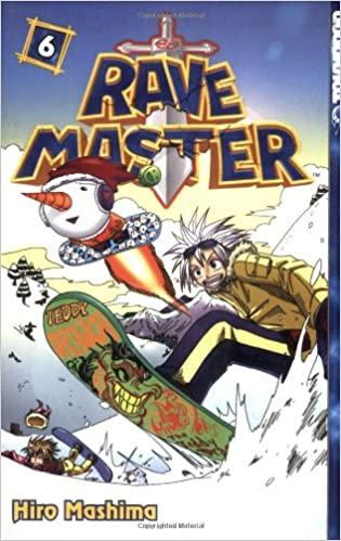 Amazon Rave Master Vol 6 9781591822134 Hiro Mashima Books