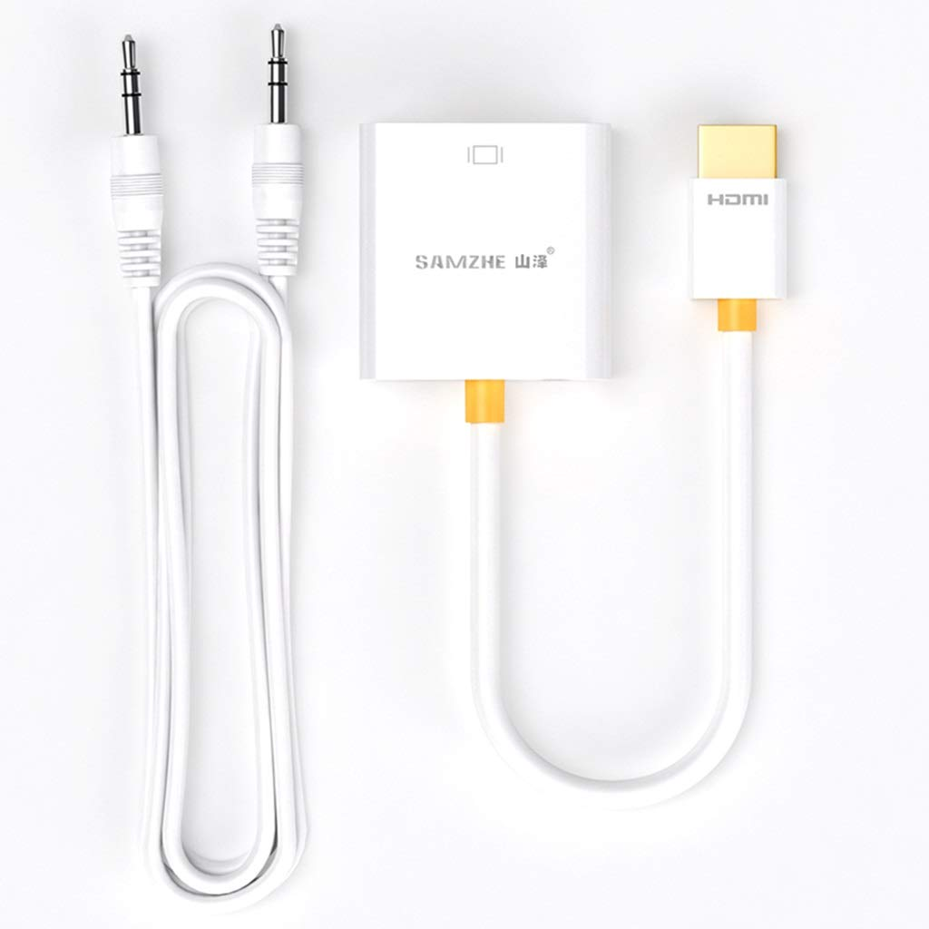 YuanElectronic HDMI al convertidor de Cable VGA con alimentación ...