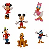 Rvold Disney Mickey Mouse Clubhouse Mini Figure Play Set of 6