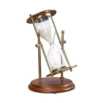 15 minutos de reloj de arena temporizador de arena cobre: Amazon.es: Hogar
