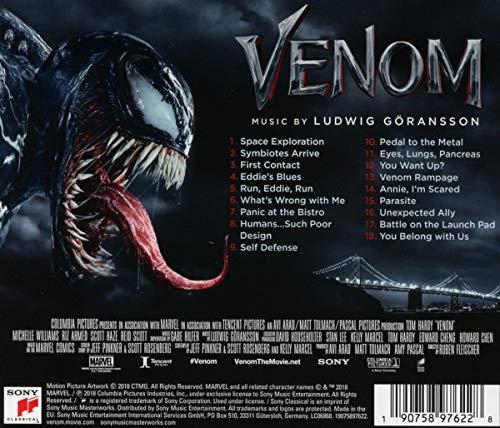Ludwig Göransson Venom Original Motion Picture Soundtrack Amazon Com Music