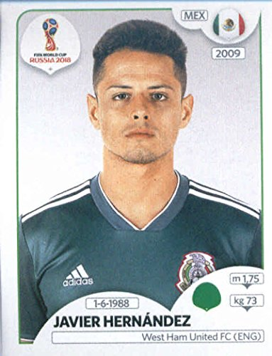 Amazon.com  2018 Panini World Cup Stickers Russia  470 Javier Hernandez  Mexico Soccer Sticker  Collectibles   Fine Art 491501efb