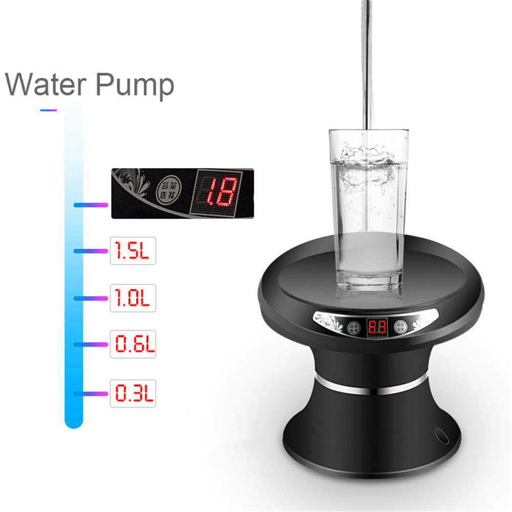 Kbxstart Automatic Electric Portable Water Pump Dispenser Gallon Drink Bottle Switch Mini Dispensador De Agua Fria Embotellada (Silver) - - Amazon.com