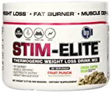 BPI Sports Stim Elite Diet Supplement, Fruit Punch, 90 Gram by BPI Sports