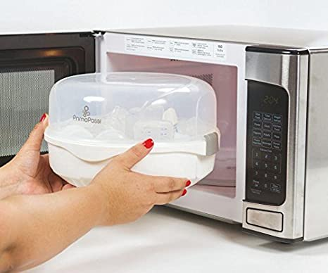 Amazon.com: Primo Passi Vapor Microondas Esterilizador: Baby