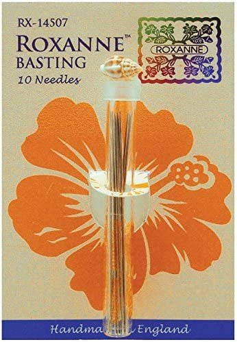 Colonial Needle Basting Extra Long Needles, Silver