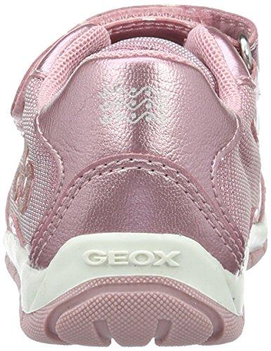 Geox B Shaax a, Botines de Senderismo para Bebés Rosa (Pinkc8004)