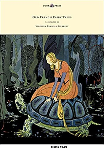 Book Old French Fairy Tales - Illustrated by Virginia Frances Sterrett