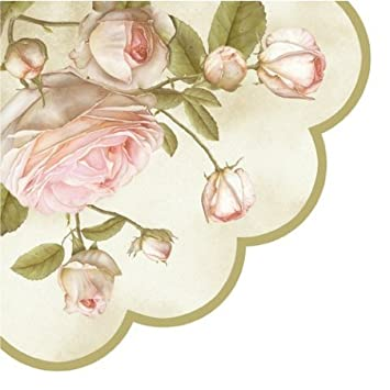 Amazon round paper napkins lucy pink roses decoupage health round paper napkins lucy pink roses decoupage mightylinksfo