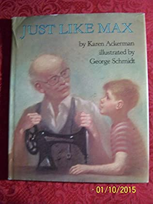 book cover of Just Like Max