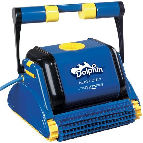 Dolphin HD Commercial Classic Robotic Swimming Pool Cleaner (Large Image)
