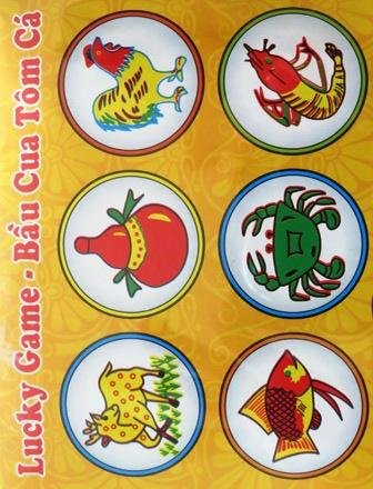 Lucky Game/BAU Cua Tom Ca/Vietnamese Game (Bau Ca)