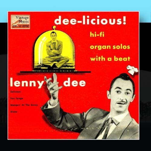 "Price comparison product image Vintage Jazz Nº 38 - EPs Collectors,  ""Dee-Licious"" Hi-Fi Organ Solos With A Beat"