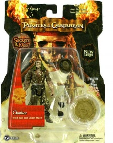 (Zizzle Pirates of the Caribbean Dead Man's Chest 3 3/4 Inch Action Figure Series 3 Clanker)