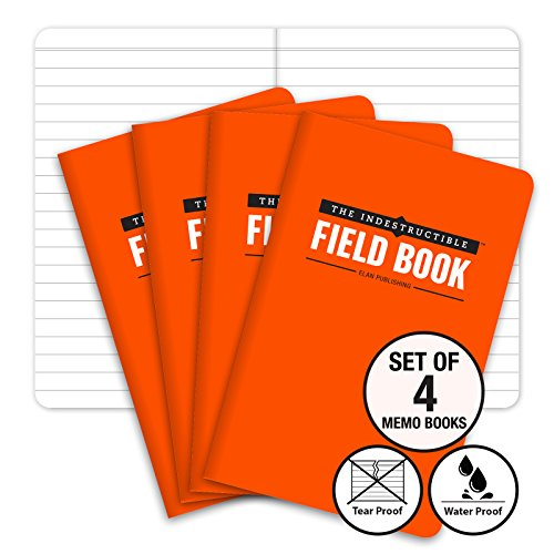 The Indestructible, Waterproof, Tearproof, Weatherproof Field Notebook - 3.5