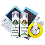 Automotive Spray Paint Clearcoat and Basic Prep Kit - Nissan Serena 1996 (AN0 Super Clear Red Metallic)
