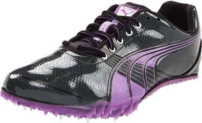 Puma Women's Complete TFX Sprint 3 Running Shoe,Dark Shadow/Steel Grey/Dewberry/Black,6 B US