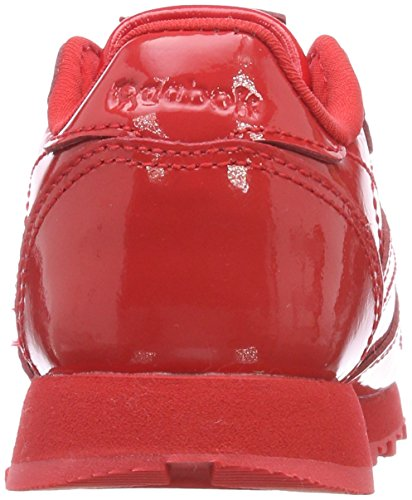 Reebok Mädchen Classic Leather Patent Gymnastikschuhe, Rot (Primal Red), 20 EU