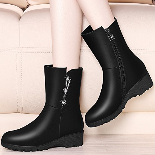 En Botas Botas Partido Todo De E Mayor El Zapatos nine Cuatro Thirty MartinBlackTreinta Y Botas En KHSKX Mujer Otoño Invierno t1dqq