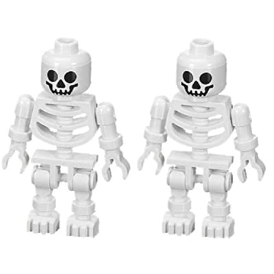 LEGO Skeleton (Swivel Arms) 2-Pack Prince of Persia Minifigure: Toys & Games