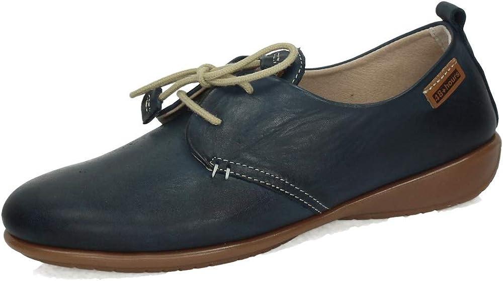 48 HORAS 10102/22 Blucher DE Piel Mujer Zapatos CORDÓN