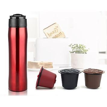 MG – portátil prensa francesa cafetera eléctrica de café premium – /oficina taza de viaje