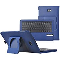 IVSO Asus Zenpad Z10 ZT500KL Keyboard Case - ASUS ZenPad 3S 10 Case With Keyboard Ultra-Thin DETACHABLE Bluetooth Keyboard Stand Case / Cover for ASUS Zenpad Z500M 9.7-Inch Tablet(Blue)